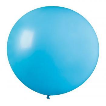 Воздушные шары Голубой 09 Пастель 76см 10шт