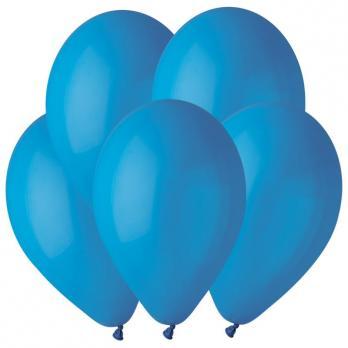 Воздушные шары Синий 10 Пастель 100шт