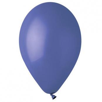 Воздушные шары Темно-синий 46 Пастель 100шт