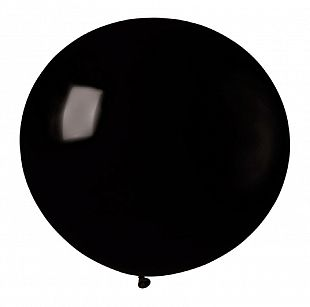 Воздушные шары  Черный 14 Пастель 76см 10шт